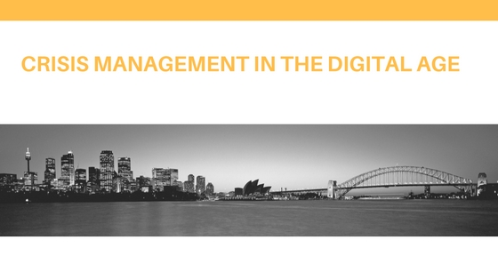 Crisis Management In The Digital Age