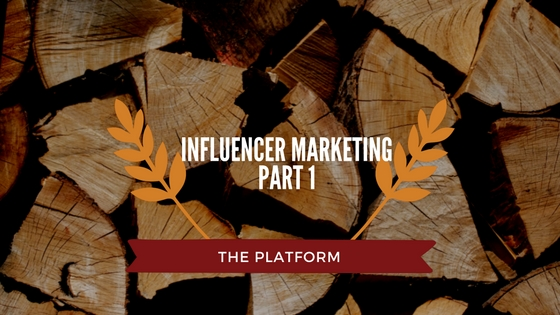 Influencer Marketing Part 1: The Platform
